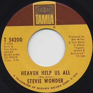 Stevie Wonder / I Got Have A Song back