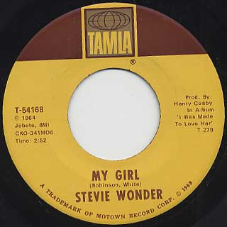 Stevie Wonder / My Girl