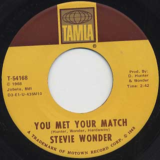 Stevie Wonder / My Girl back