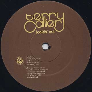 Terry Callier / Lookin' Out label