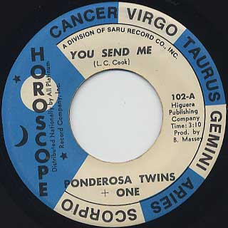 Ponderosa Twins + One / You Send Me front