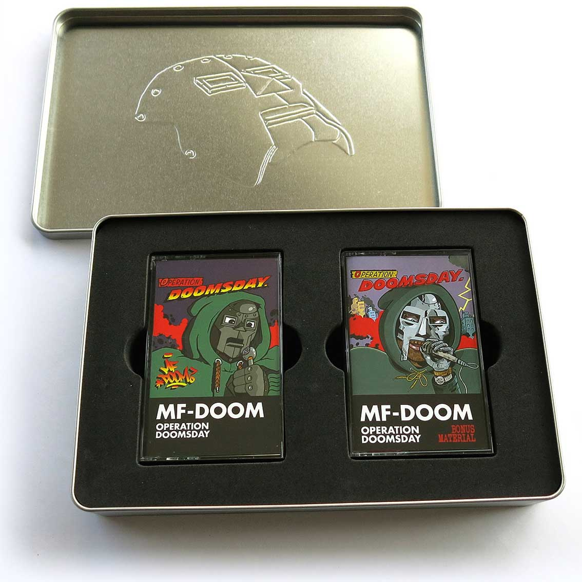 MF Doom / Operation: Doomsday(Two Cassettes Box) back