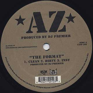 AZ  / The Format back
