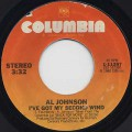 Al Johnson / I've Got My Second Wind