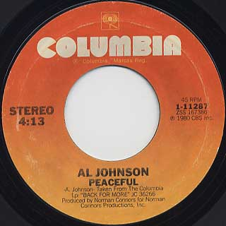 Al Johnson / I've Got My Second Wind back
