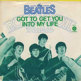 Beatles / Got To Get You Into My Life back
