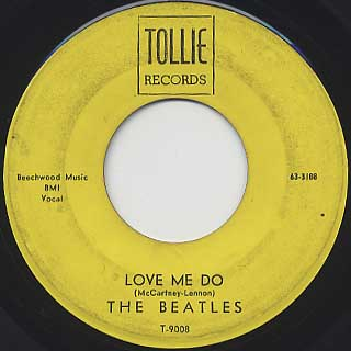 Beatles / Love Me Do front