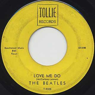 Beatles / Love Me Do back