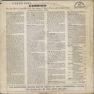 Candido / Latin Fire back