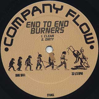 Company Flow / End To End Burners label