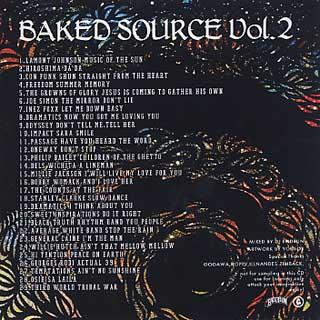 DJ Endrun / Baked Source Vol.2 back