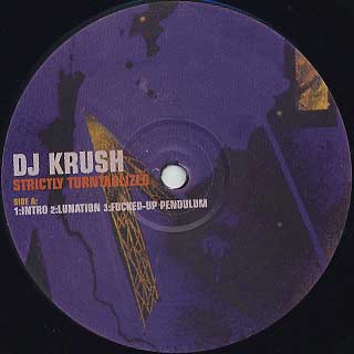 DJ Krush / Strictly Turntablized label