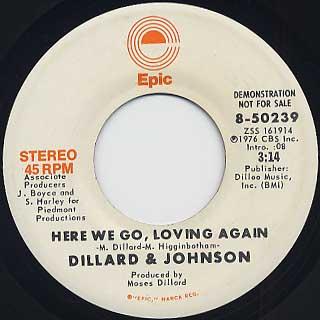Dillard & Johnson / Here We Go, Loving Again back