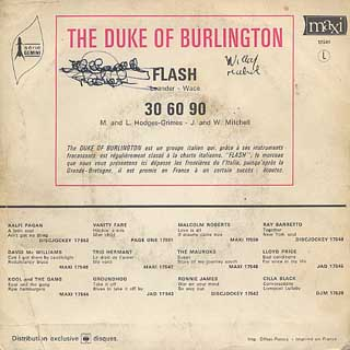 Duke Of Burlington / Flash back
