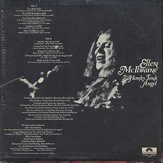Ellen Mcilwaine / Honky Tonk Angel back