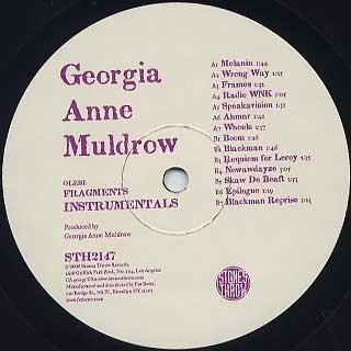 Georgia Anne Muldrow / Fragments Instrumentals
