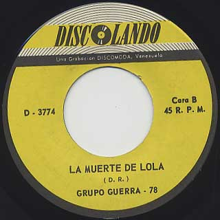 Grupo Guerra 78 / Soul Makossa