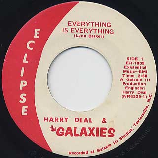 Harry Deal & The Galaxies / Everything Is Everything front