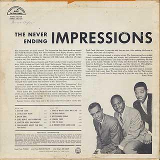 Impressions / Versatile Impressions back