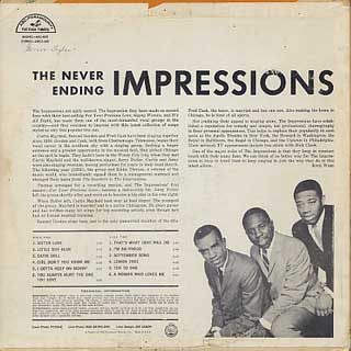 Impressions / The Never Ending back