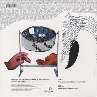 John Gibbs & The U.S. Steel Orchestra / Trinidad(Disco Mix) back