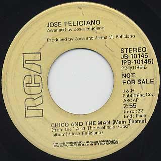 Jose Feliciano / Hard Time In El Barrio