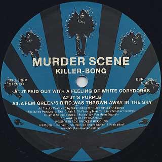 Killer-Bong / Murder Scene label