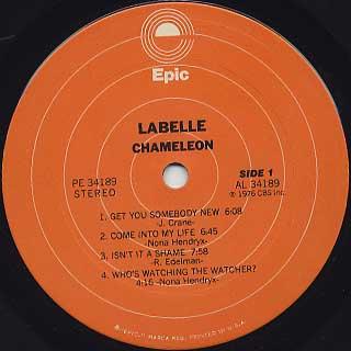 Labelle / Chameleon label