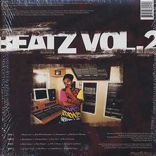 Large Pro / Beatz Vol. 2 back