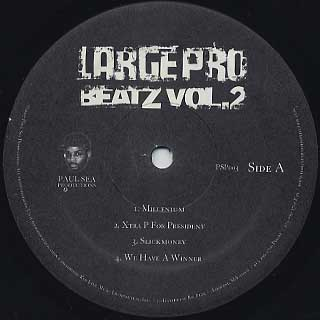 Large Pro / Beatz Vol. 2 label