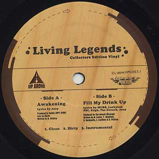Living Legends / Awakening label