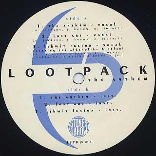 Lootpack / The Anthem label