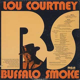 Lou Courtney / Baffalo Smoke back