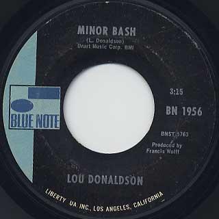 Lou Donaldson / Everything I Do Gonna Be Funky(45) back