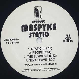 Maspyke / Static label