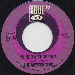 Messengers / Window Shopping c/w California Soul