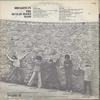 Outlaw Blues Band / Breaking In back