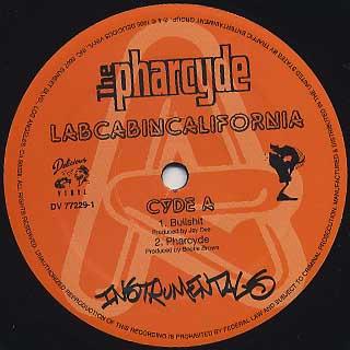 Pharcyde / Labcabincalifornia Instrumentals label