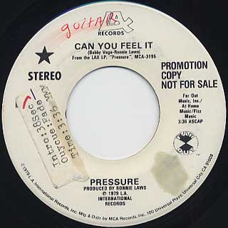 Pressure / Can You Feel It(45)
