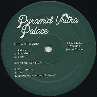 Pyramid Vritra / Palace label