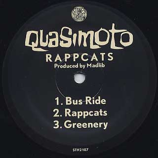 Quasimoto / Rappcats label