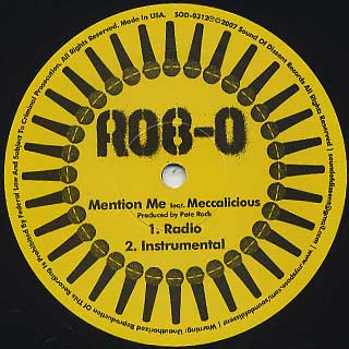 Rob-O / Mention Me