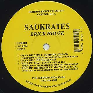Saukrates / Brick House EP