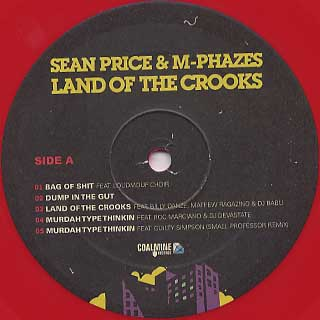 Sean Price & M-Phazes / Land Of The Crooks label