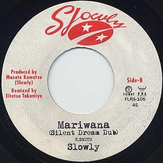 Slowly / Mariwana(2014 re-take) back