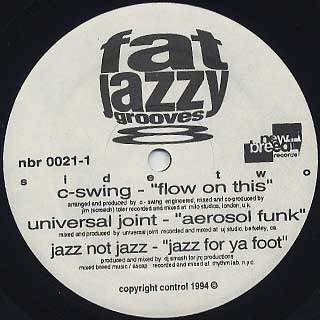 V.A. / Fat Jazzy Grooves 8 label