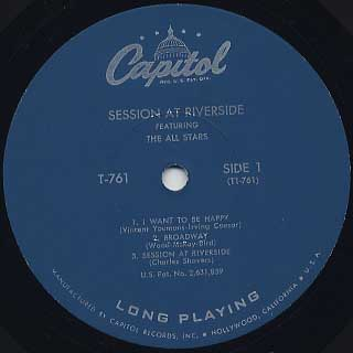 V.A. / Session At Riverside label