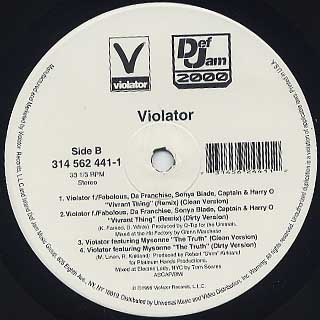 V.A. / Viorator Remix back