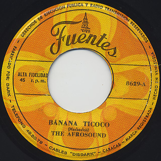 Afrosound / Banana Ticoco front