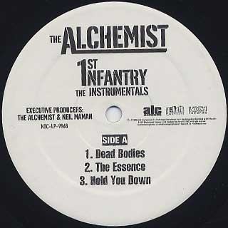 Alchemist / 1st Infantry Instrumentals label